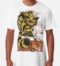 Nekobus, le Chat Noir Camiseta larga