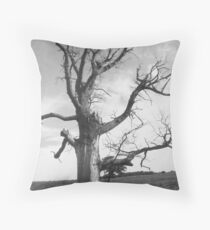 deadwood tree  Throw Pillow