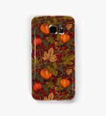 Autumn Pumpkins Samsung Galaxy Case/Skin