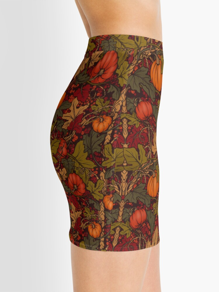 Alternate view of Autumn Pumpkins Mini Skirt
