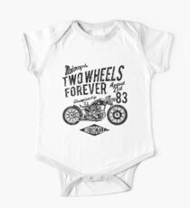 Motorcycle Retro Vintage One Piece - Short Sleeve