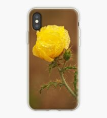 Yellow Prickly Poppy iPhone Case