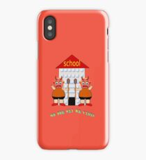 GAMES THAT CHILDREN PLAY - NO YOU HIT ME FIRST!!! iPhone Case/Skin