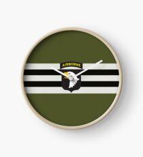 D-Day Streifen mit 101st Airborne Patch (Horizontal) Uhr