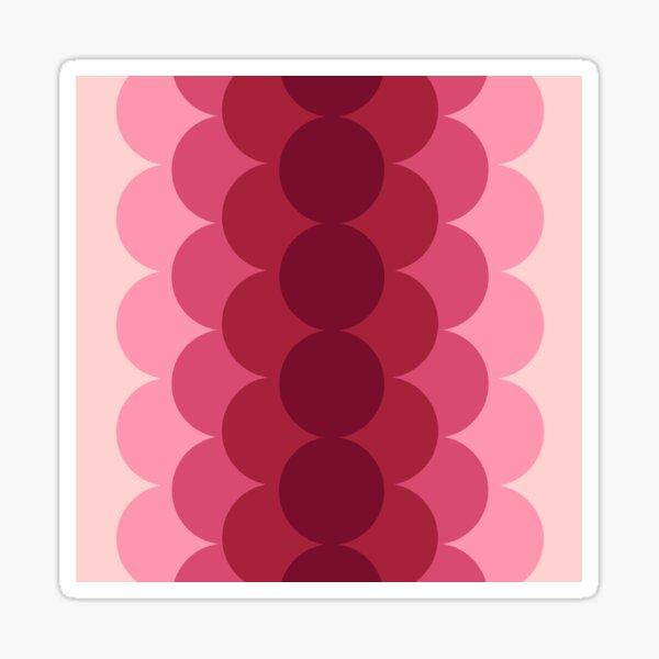 Gradual Pink  Sticker