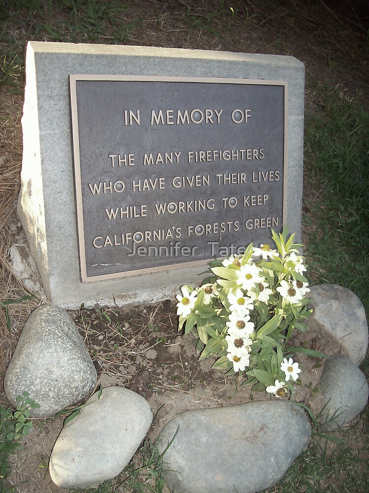 In Memory Of.... by Jennifer  Tate