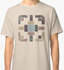 Western Tribal in Earth Tones Classic T-Shirt