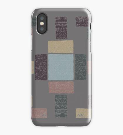 Western Tribal in Earth Tones iPhone Case/Skin