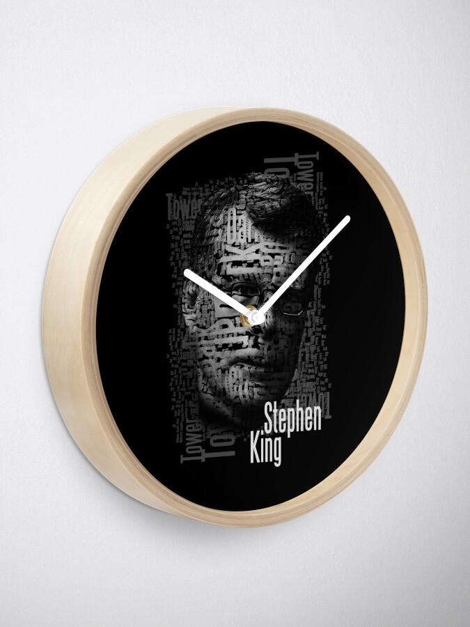 Alternative Ansicht von Stephen König Bücher Uhr