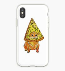 pizza gato iPhone Case