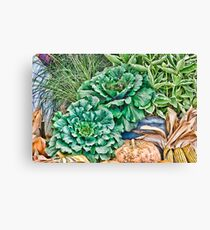 Produce Canvas Print