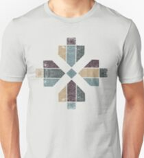 Western Tribal in Earth Tones Abstract Unisex T-Shirt