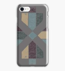 Western Tribal in Earth Tones Abstract iPhone Case/Skin
