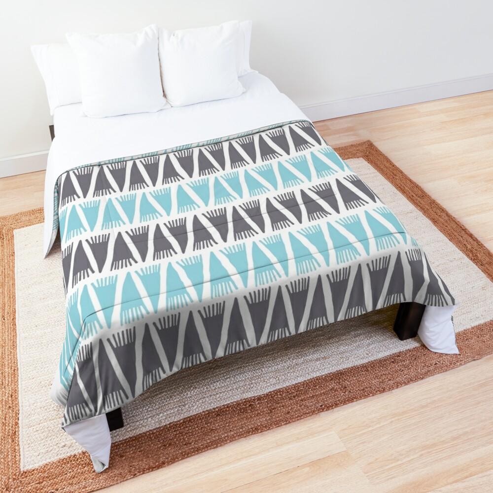Teepee Island Paradise  Comforter