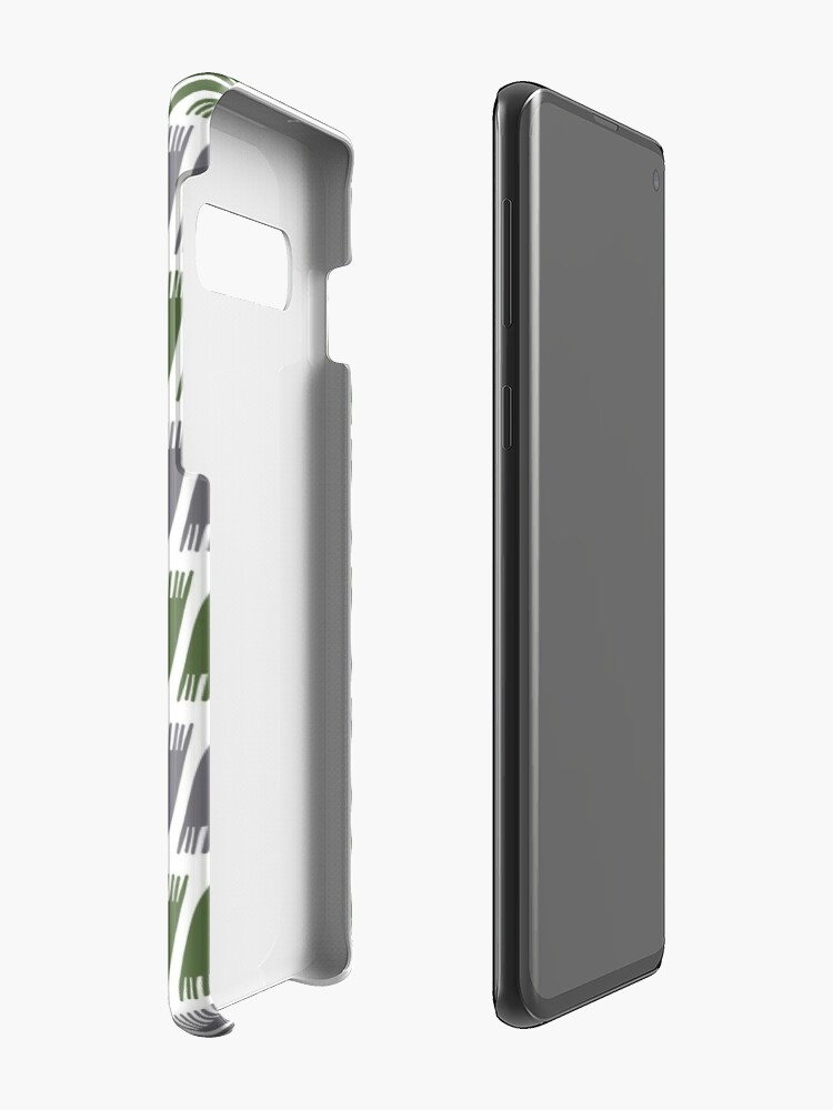 Alternate view of Teepee Kale  Case & Skin for Samsung Galaxy