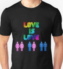 Love is love, no discriminations T-Shirt