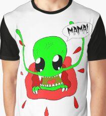 Baby sieht seine Mama Grafik T-Shirt