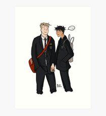 Nick and Charlie Art Print