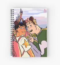 Boyfriend Holiday Spiral Notebook