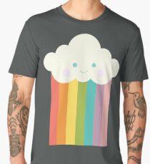 Proud rainbow cloud Men's Premium T-Shirt