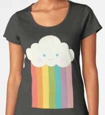 Proud rainbow cloud Women's Premium T-Shirt