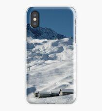 Swiss Winter Snow Scene iPhone Case/Skin