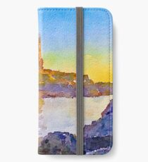 Dunure Castle Scotland iPhone Wallet