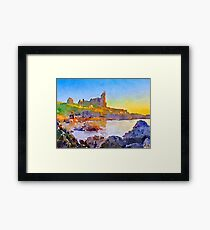 Dunure Castle Scotland Framed Print