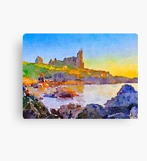 Dunure Castle Scotland Canvas Print