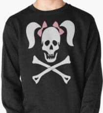 Skull Crossbones Pigtails Pullover