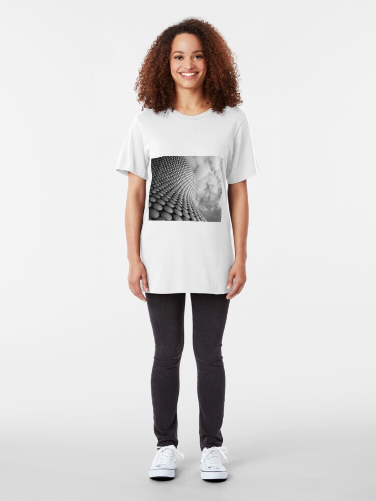Alternate view of Clouds and Circles Slim Fit T-Shirt
