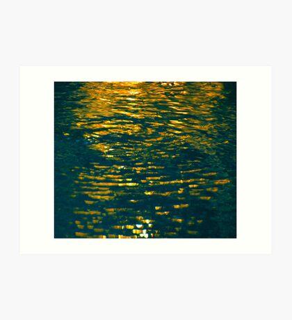 And The Spirit of God Moved Upon the Face of the Waters. Art Print