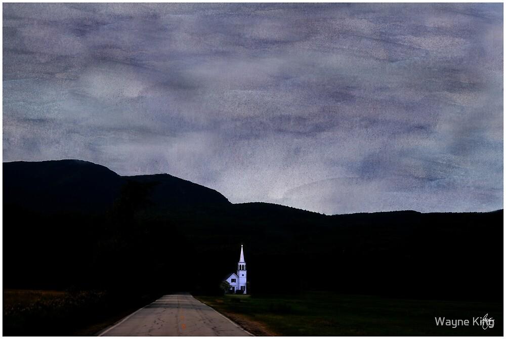 Chocorua Chapel Mindscape by Wayne King