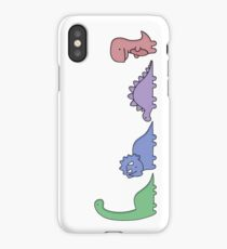 Dinosaur Illustrations iPhone Case/Skin