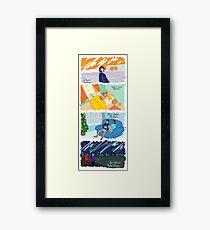 Four Stories Framed Print