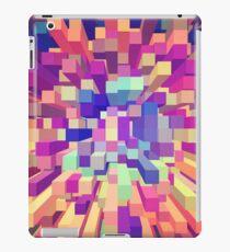 Colorful Exploding Blocks 9 iPad Case/Skin