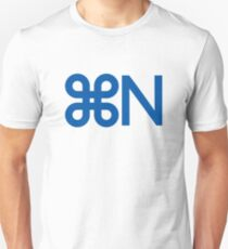 New and Original Symbol / CMD + N Shortcut T-Shirt