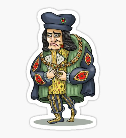King Richard III Sticker