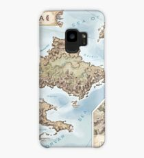 Belthennia - a map of its Independent Territories Case/Skin for Samsung Galaxy