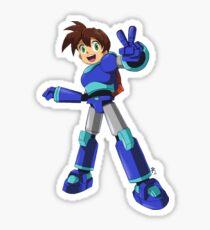 Mega Man Volnutt Sticker