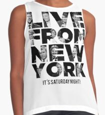 Live From New York, It's Saturday Night - Saturday Night Live Contrast Tank