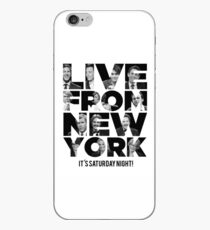 Live From New York, It's Saturday Night - Saturday Night Live iPhone Case