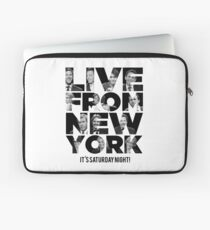 Live From New York, It's Saturday Night - Saturday Night Live Laptop Sleeve