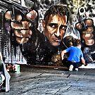 Public Art , graffiti  by LudaNayvelt