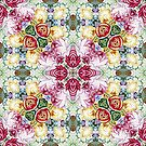 Rijksmuseum Floral Abstract Pattern by Ruth Moratz
