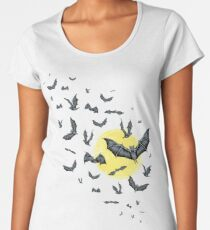 Bat Swarm (Shirt) Women's Premium T-Shirt