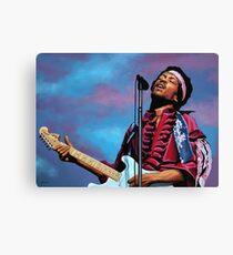 Jimi Hendrix Painting 2 Canvas Print