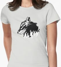 Wolf of madness  | Minimalist Vector T-Shirt