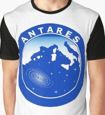 ANTARES Collaboration Logo Graphic T-Shirt