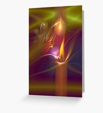 Candle in the Wind Greeting Card